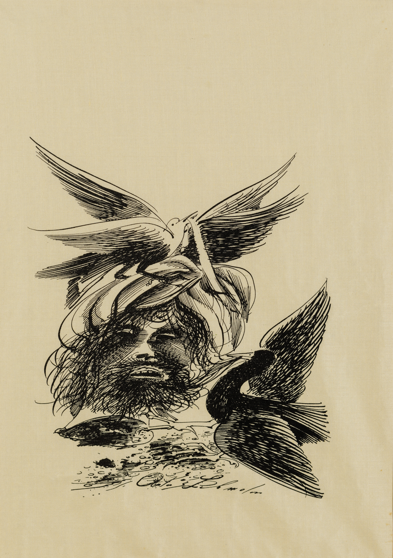 Anton Lehmden, Vögel mit Windgott