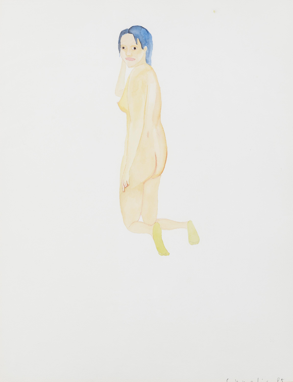 Hubert Schmalix, Weiblicher Rückenakt