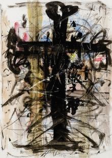 Hans Staudacher, Kreuz