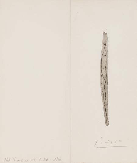 Pablo Ruis Picasso, Nu (Nude)