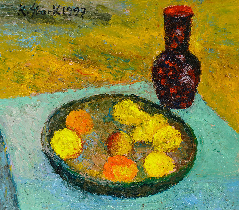 Karl Stark, Stillleben mit Obst