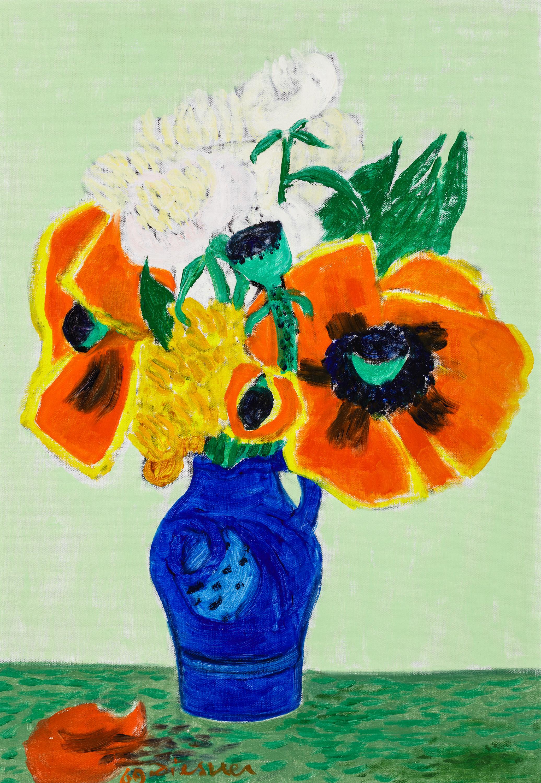 Gerhild Diesner, Blumen in Vase