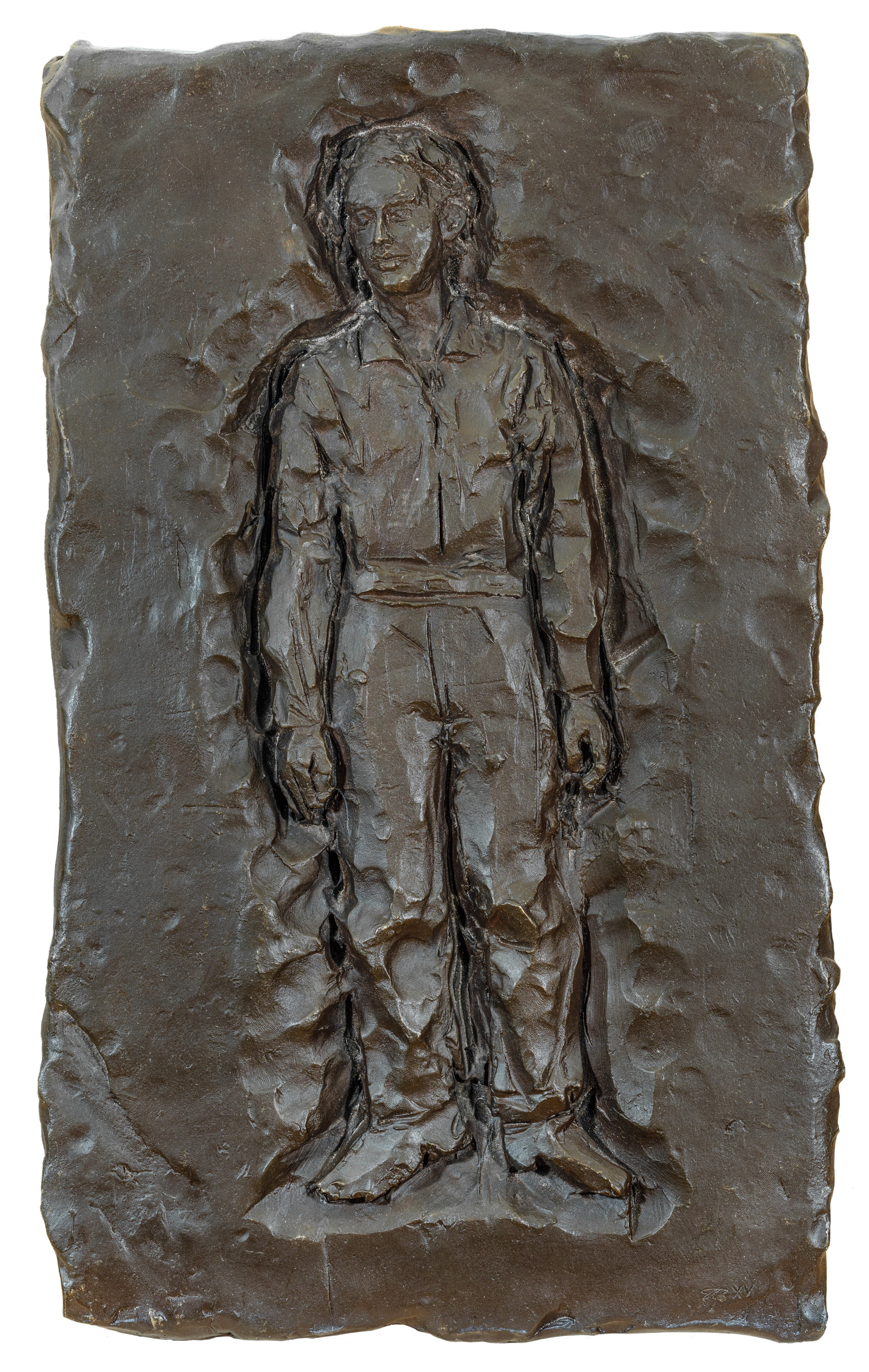 Stephan Balkenhol, Relief Mann. Schmerz-Transformationen