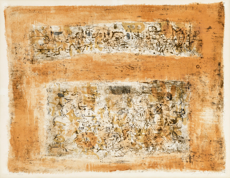 Zao Wou-Ki, Ohne Titel / untitled