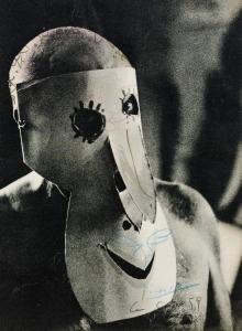 Pablo Picasso / David Douglas Duncan, Picasso mit Grand masque