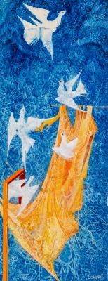 Helmut Leherb, Les colombes