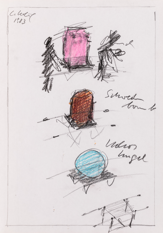 Cornelius Kolig, Punschkrapferl, Schwedenbombe, Kokoskugel