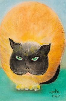 Manfred Deix, Katze