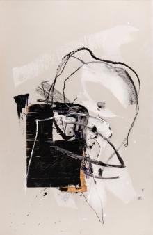 Hannes Mlenek, Ohne Titel (gekrümmte Figur)