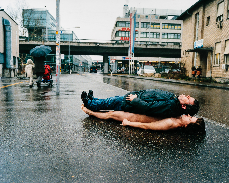 Erwin Wurm, Ohne Titel (aus der Serie Hamlet / Michael Ransburg, Mike Müller)