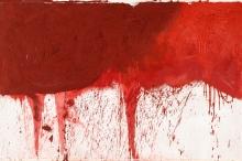 Hermann Nitsch, Ohne Titel (Schüttbild)