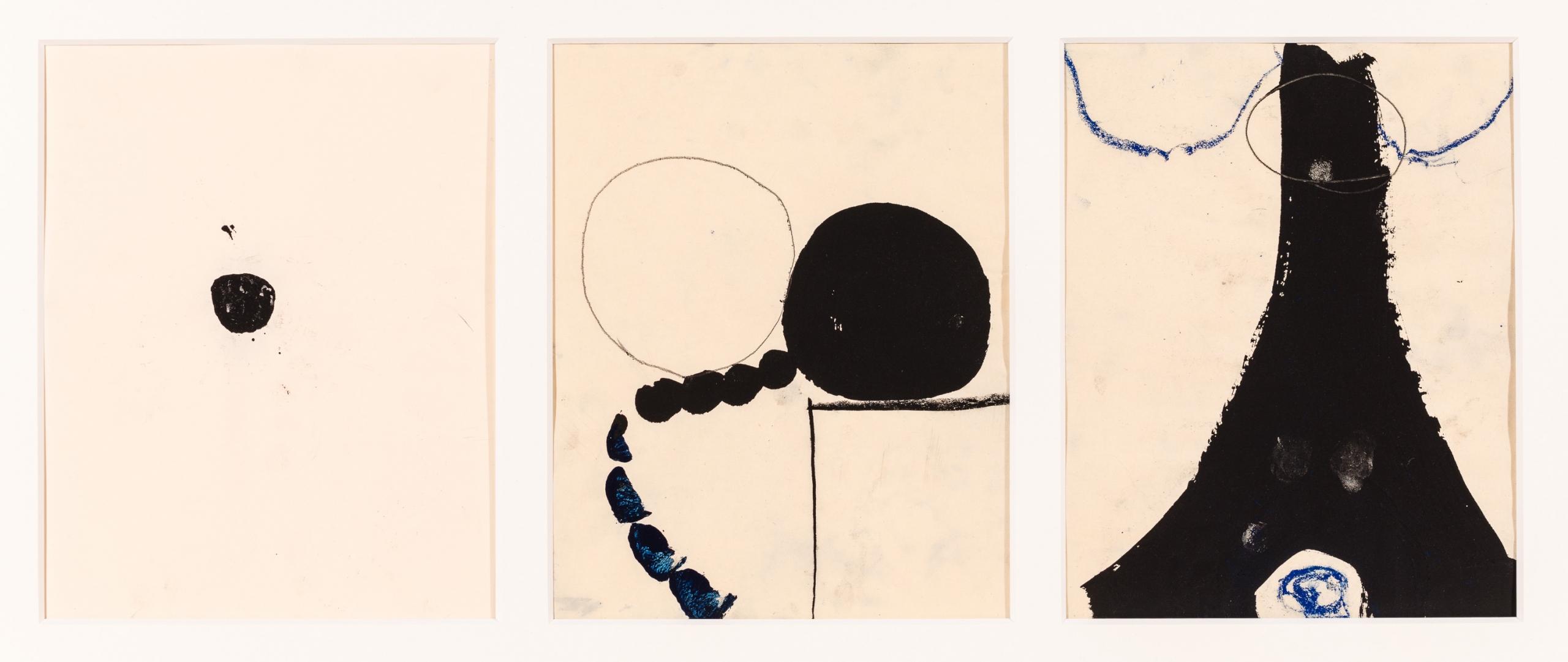 Michael Kienzer, Ohne Titel (3 Werke/3 works)