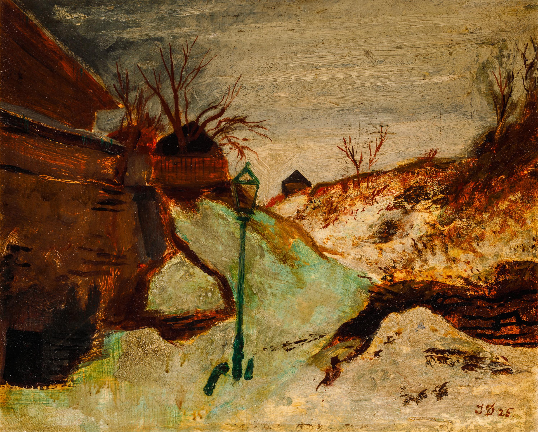 Josef Dobrowsky, Winterlandschaft