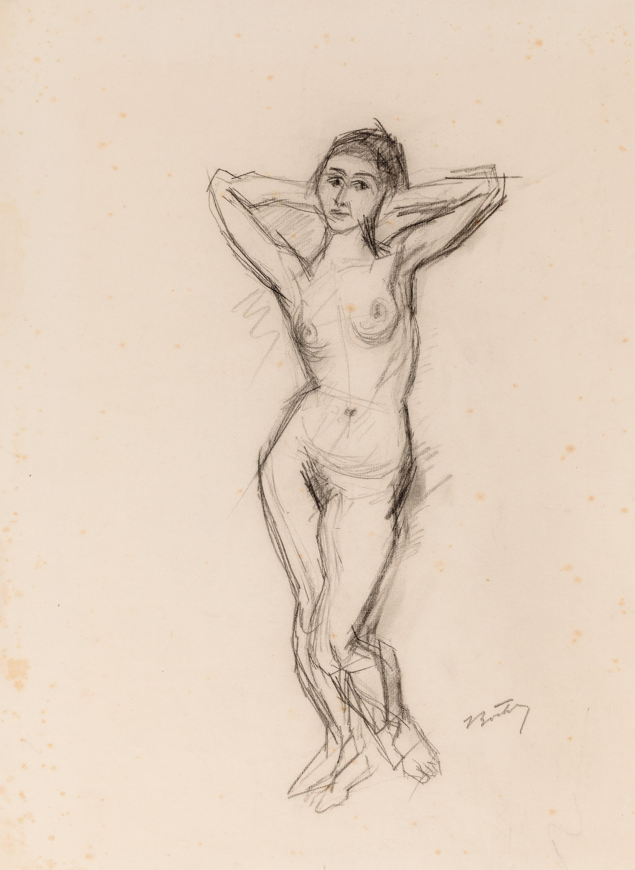 Herbert Boeckl, Stehender weiblicher Akt