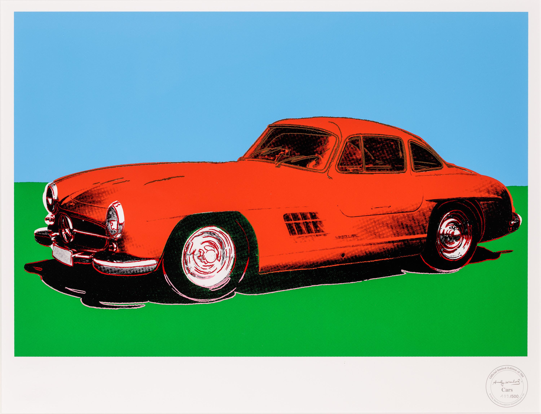 Andy Warhol, Mercedes 300 SL Gulwing