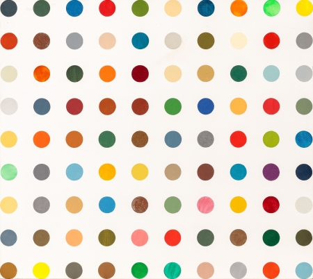 Damien Hirst, Painting by Numbers I