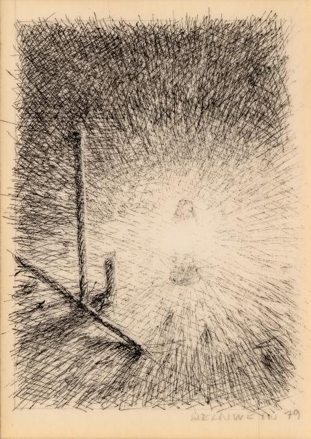 Gottfried Helnwein, Ohne Titel (Lampe)