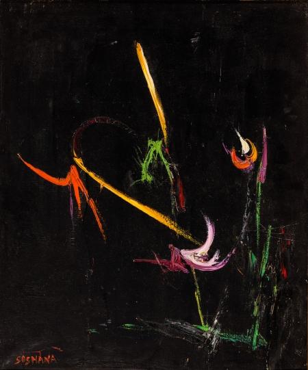 Soshana, Flowers I (aus der Serie Abstract)