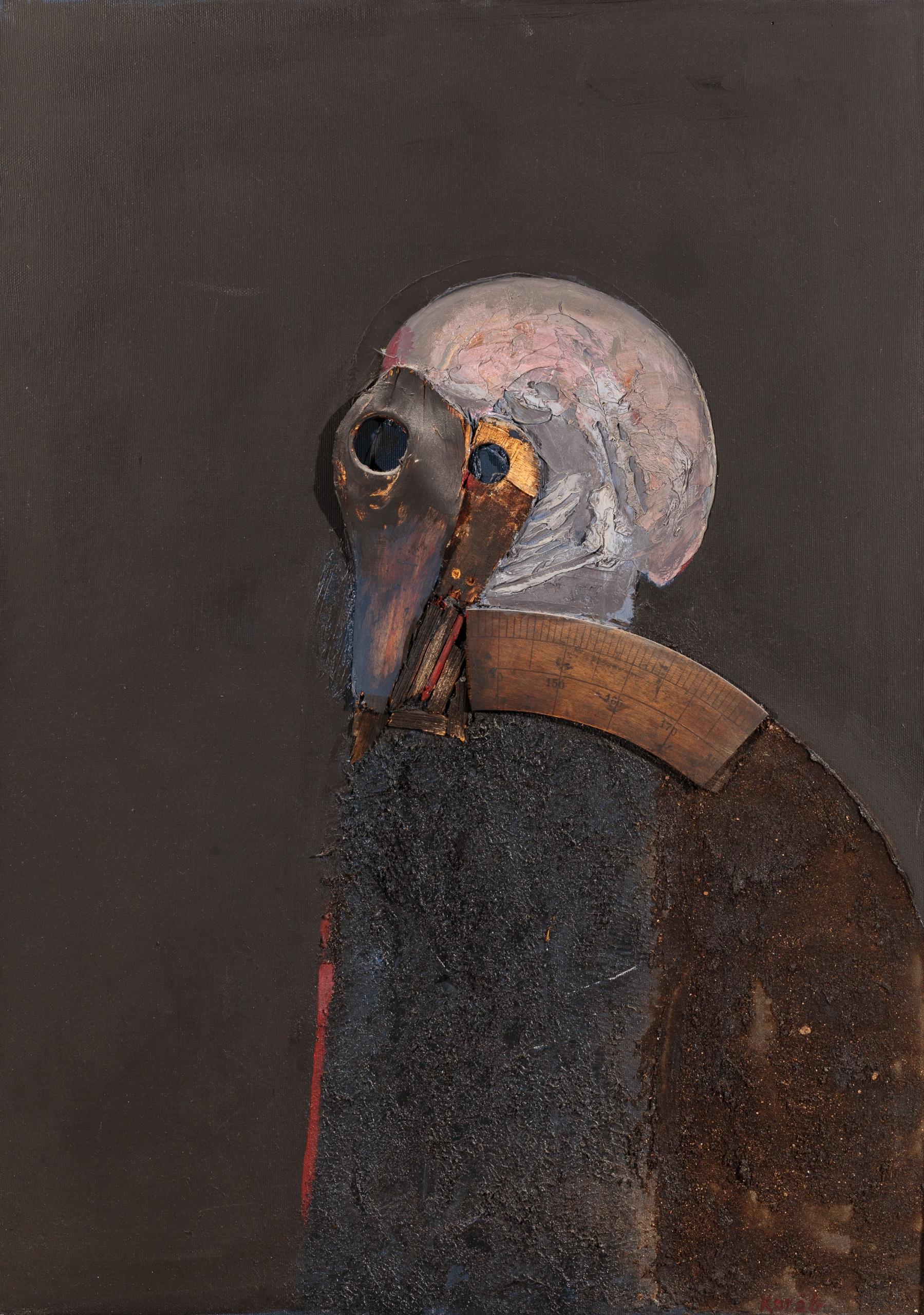 Karl Korab, Maske