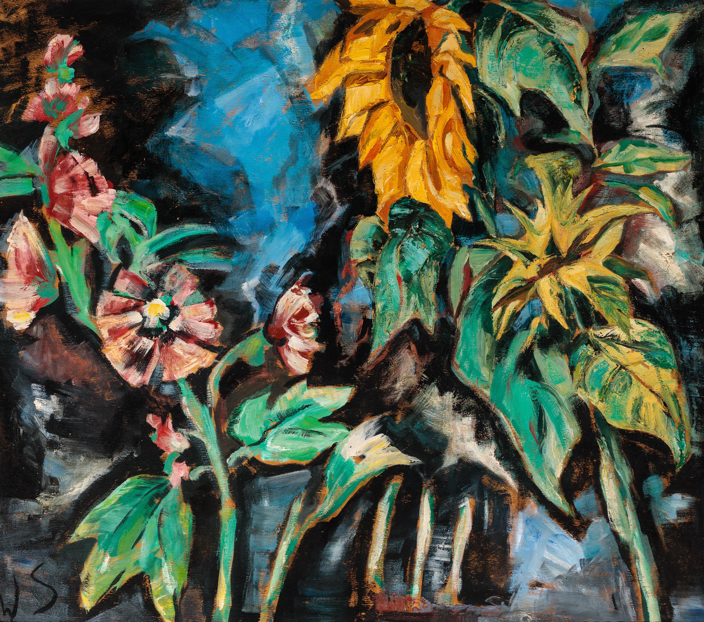 Werner Scholz, Blumen