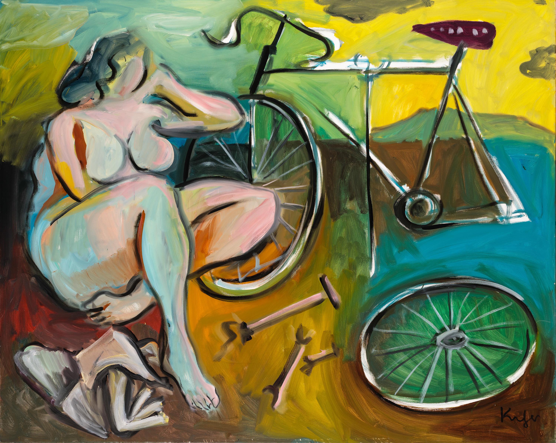 Alfred Kornberger, Beim Fahrradwechsel