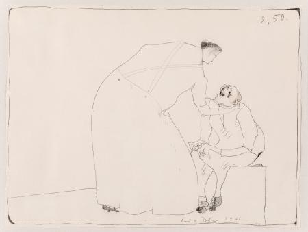 Horst Janssen, Anni + Joerke