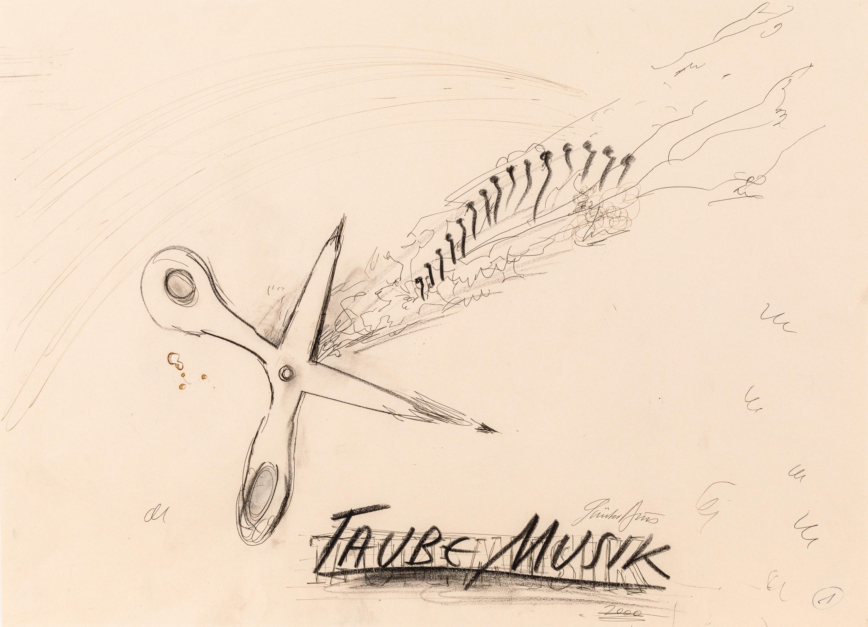 Günter Brus, Taube Musik (dreiteilige Bilddichtung)