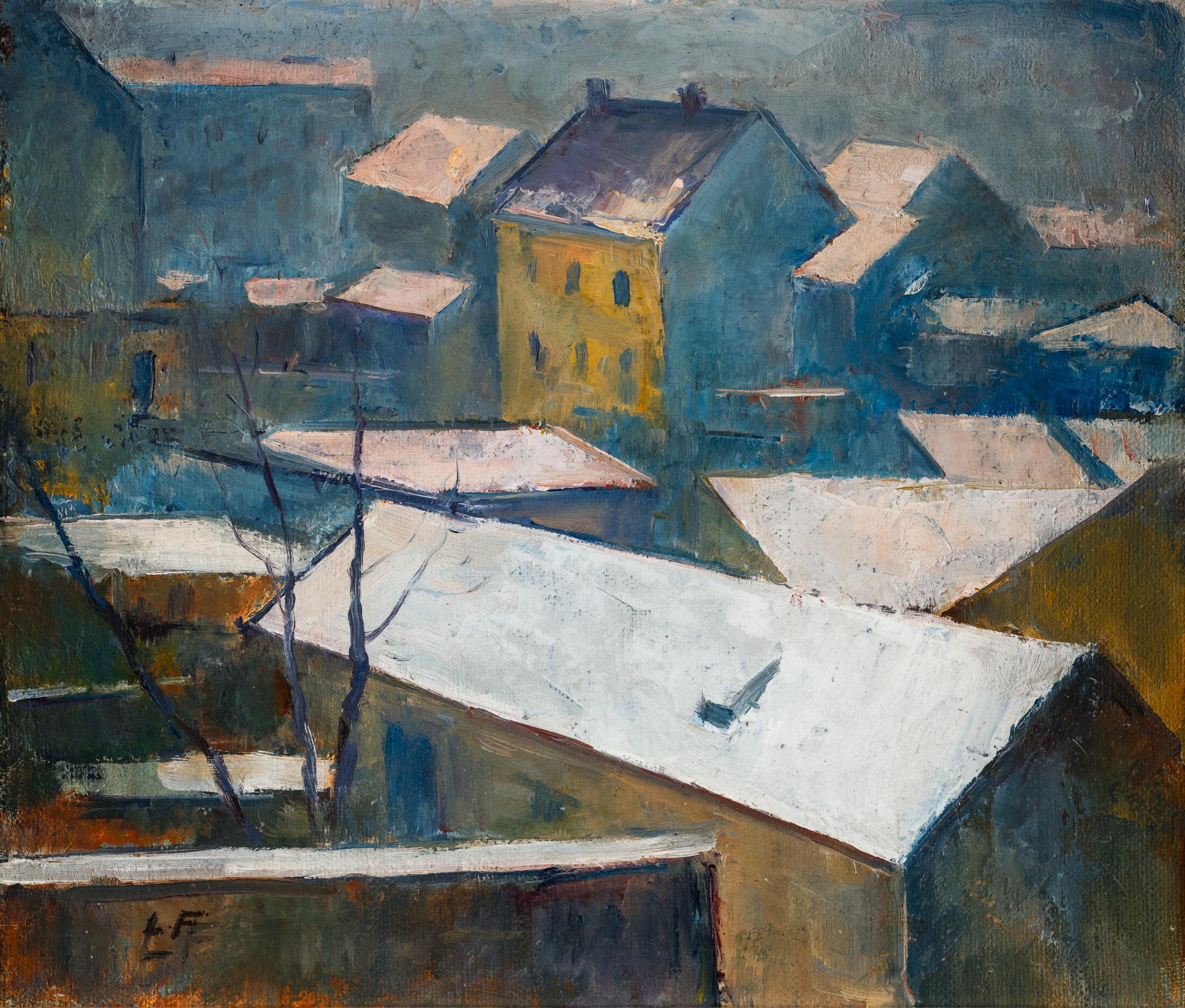 Leo Fellinger, Dächer von Graz