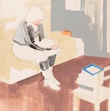 Franz Motschnig, Die Lesende