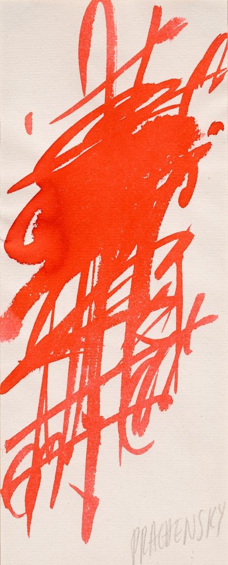 Markus Prachensky, Ohne Titel / untitled