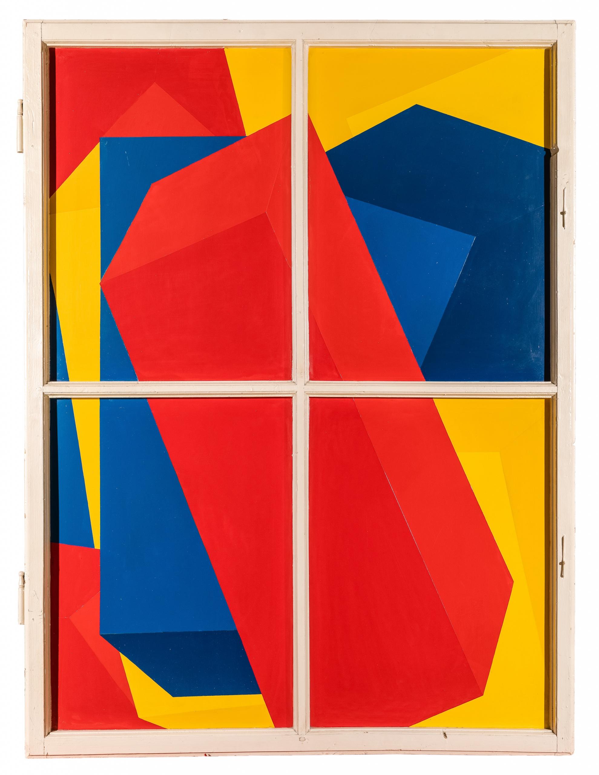 Roland Goeschl, Ohne Titel (Fensterbild)