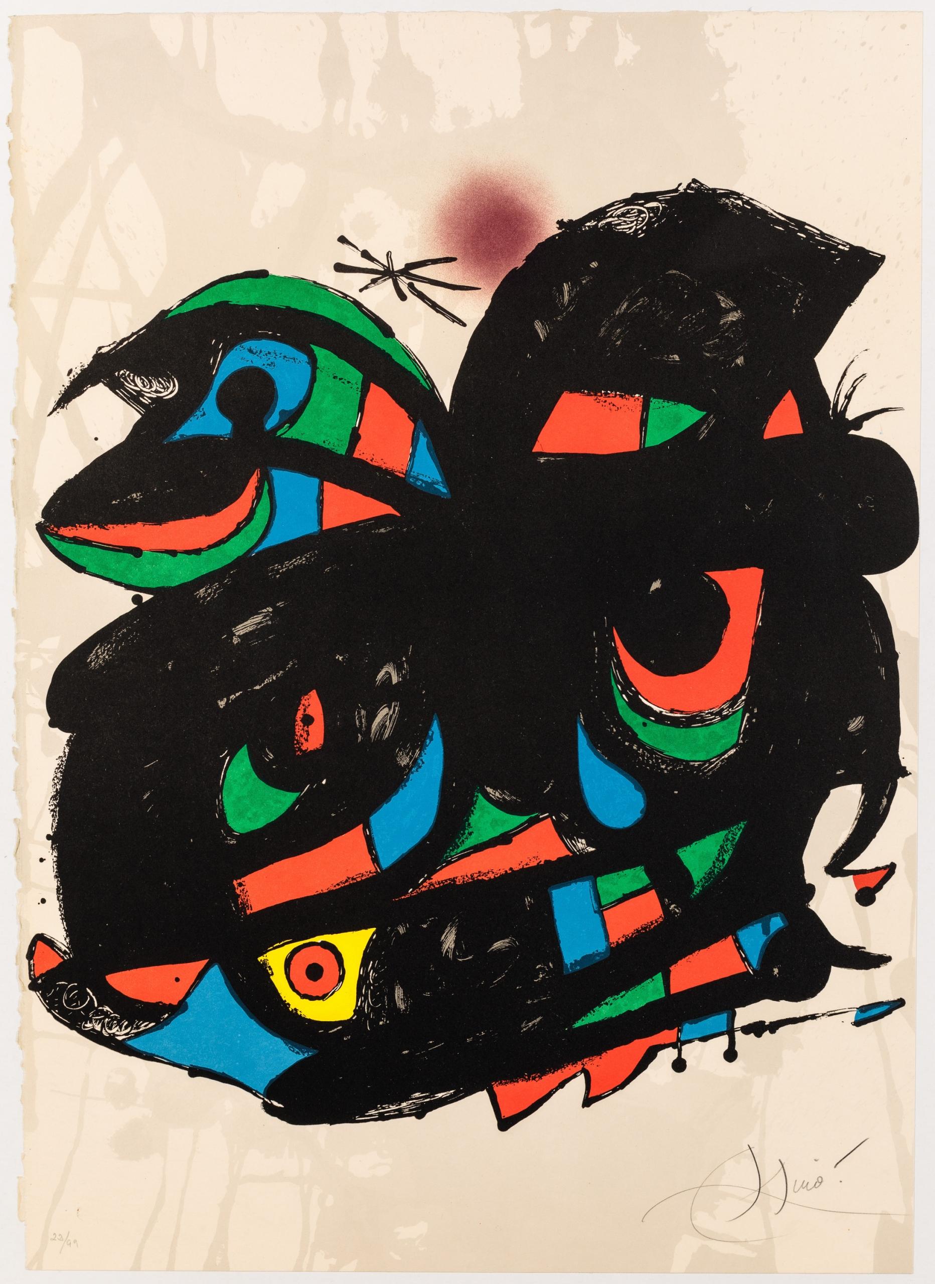 Joàn Miró, Inauguracio Fundació Joan Miró