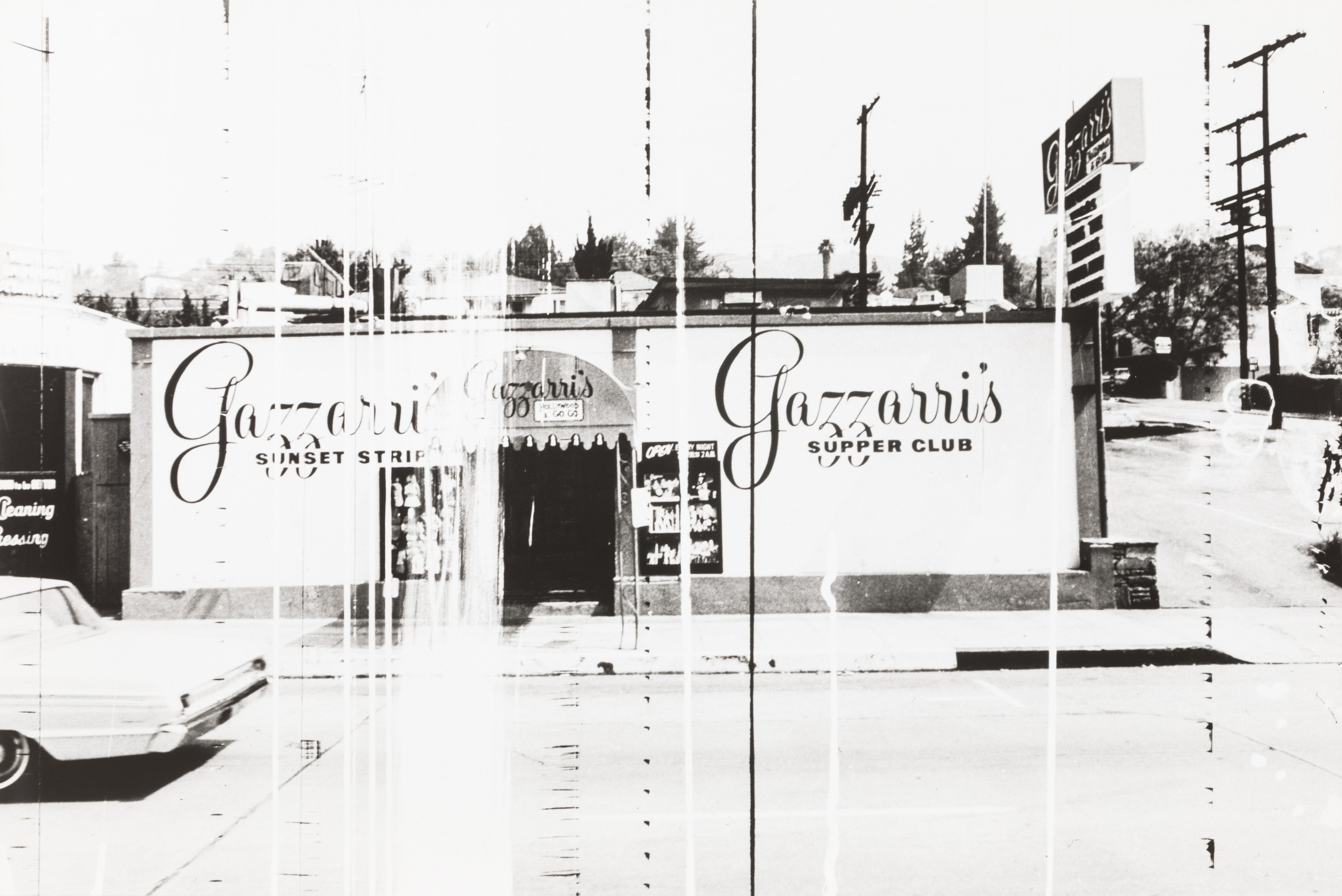 Ed Ruscha, Gazzarri's Supper Club (The Sunset Strip, LA - Portfolio)