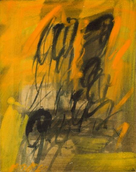 Josef Mikl, Ohne Titel (Kopf) / untitled (head)