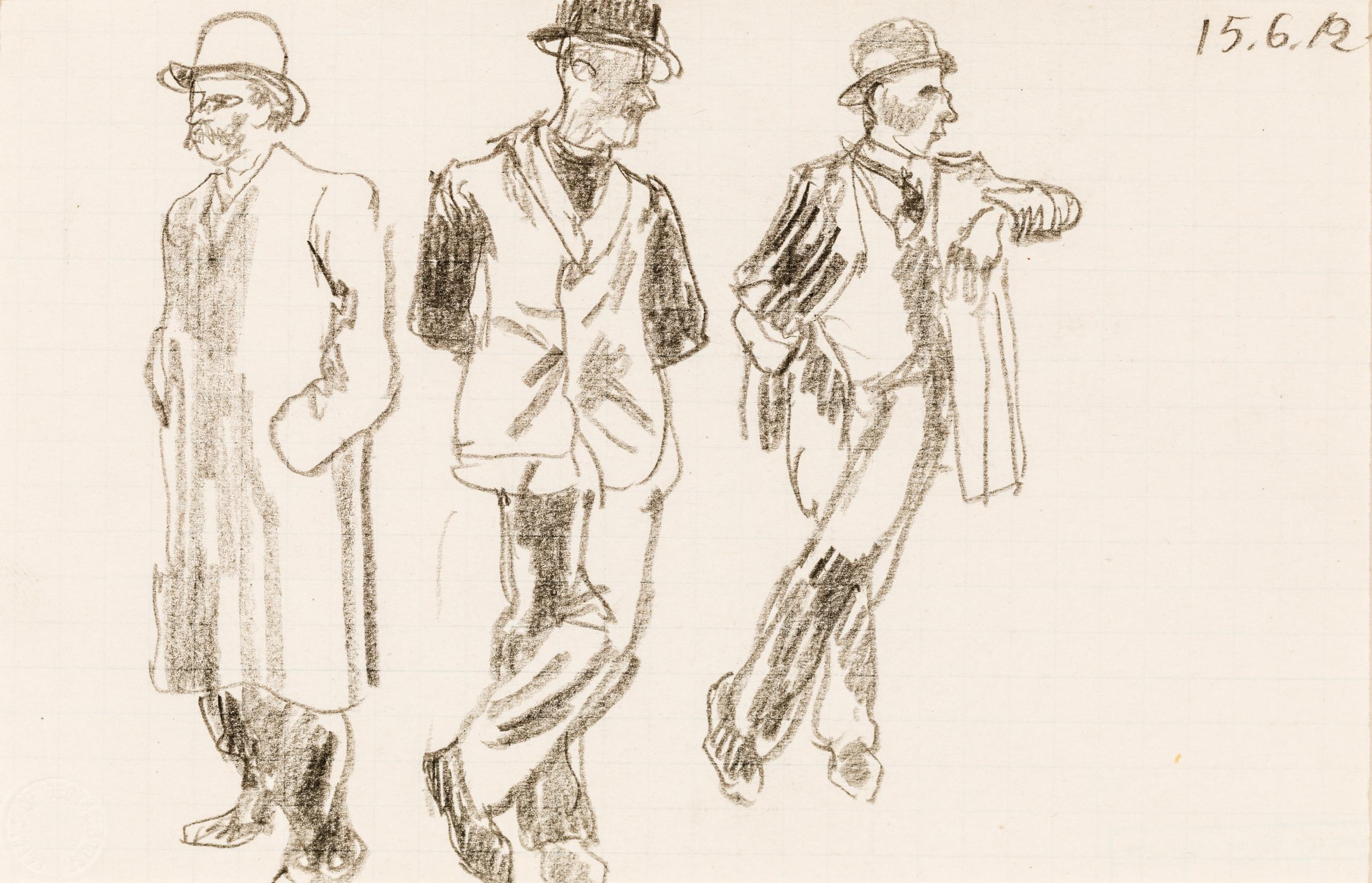 George Grosz, 3 Figuren
