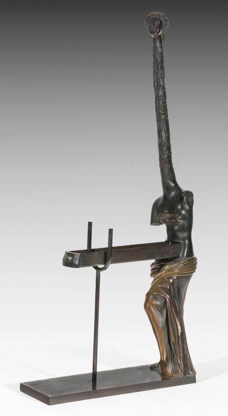 Salvador Dali, Vénus à la girafe