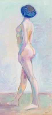 Maximilian Kurzweil, Stehender weiblicher Akt