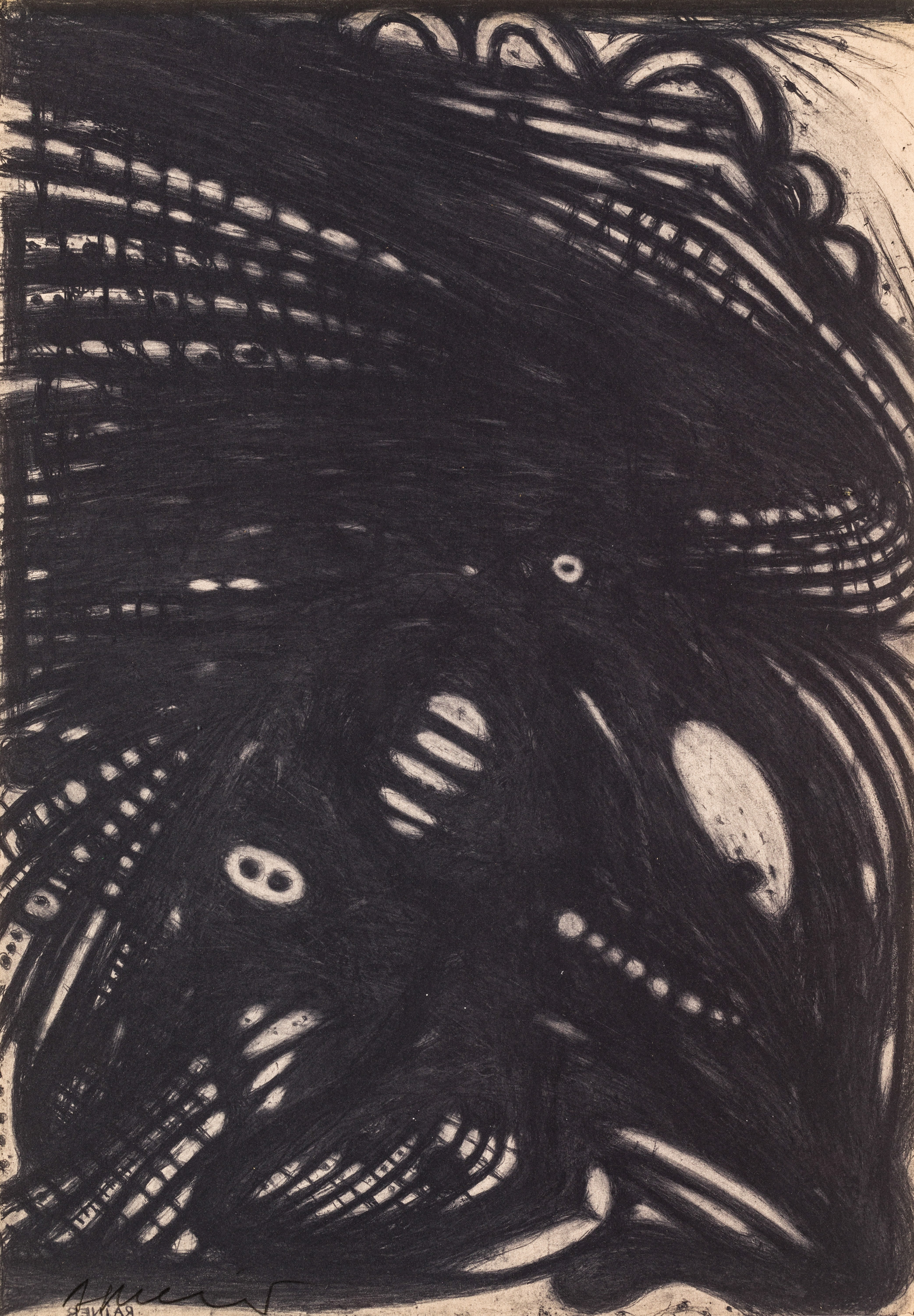 Arnulf Rainer, Ohne Titel / untitled