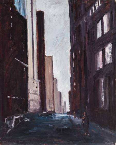 Georg Eisler, New York - Morgens