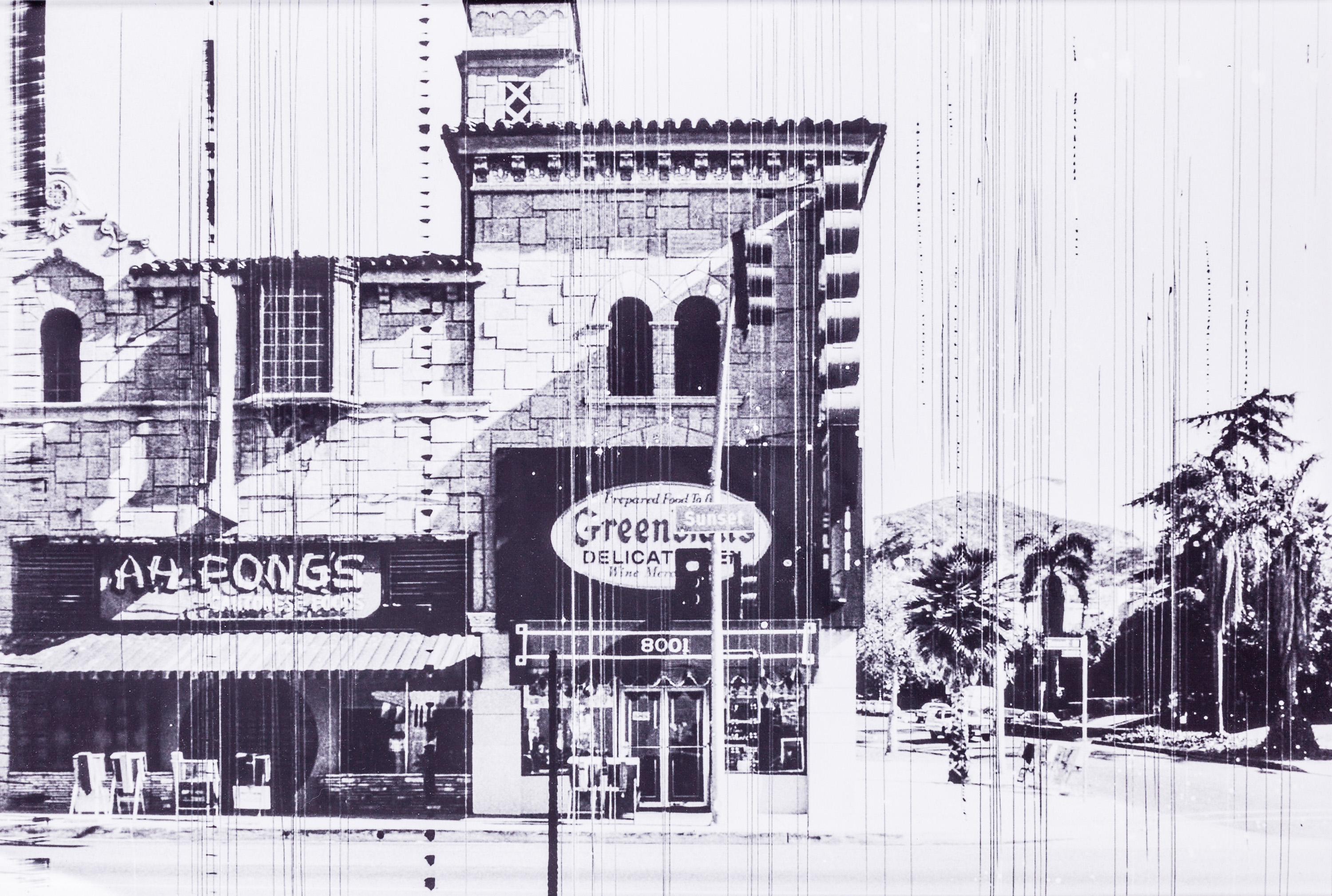 Ed Ruscha, Greenblatt's Deli (The Sunset Strip, LA - Portfolio)
