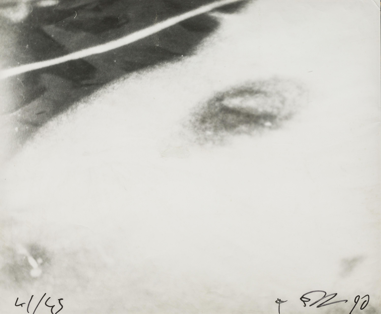 Franz West, Ohne Titel (Bildhauerphotografien in Zusammenarbeit mit Octavian Trauttmansdorff und Günther Förg)