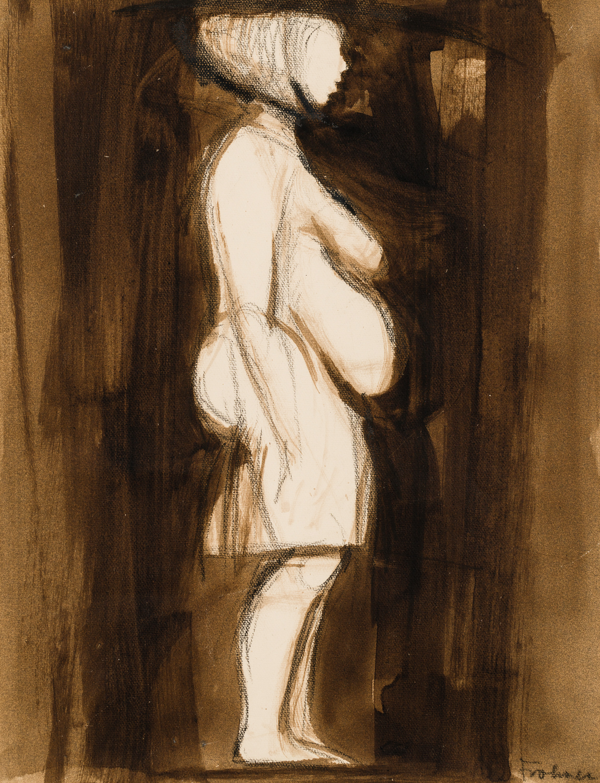 Adolf Frohner, Ohne Titel (Figurenstudie) / untitled (figure study)