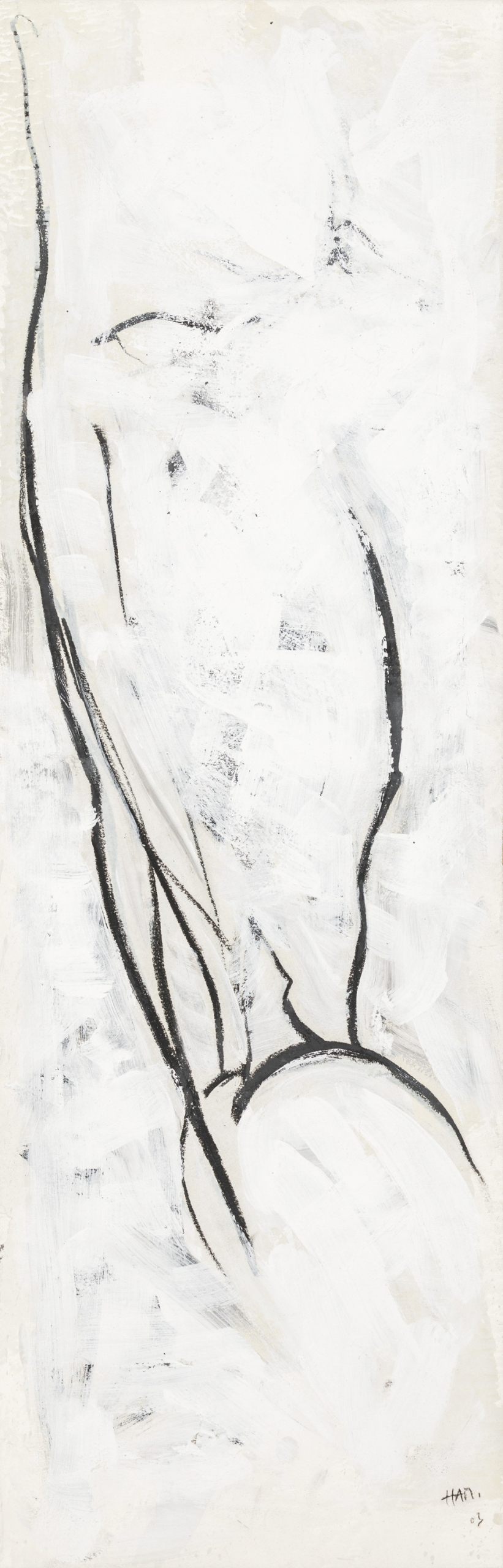 Hannes Mlenek, Ohne Titel (aus der Serie Beinstudien) / untitled (from the series leg studies)