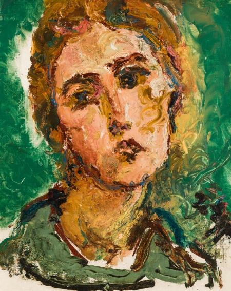 Jean Egger, Porträt einer jungen Frau