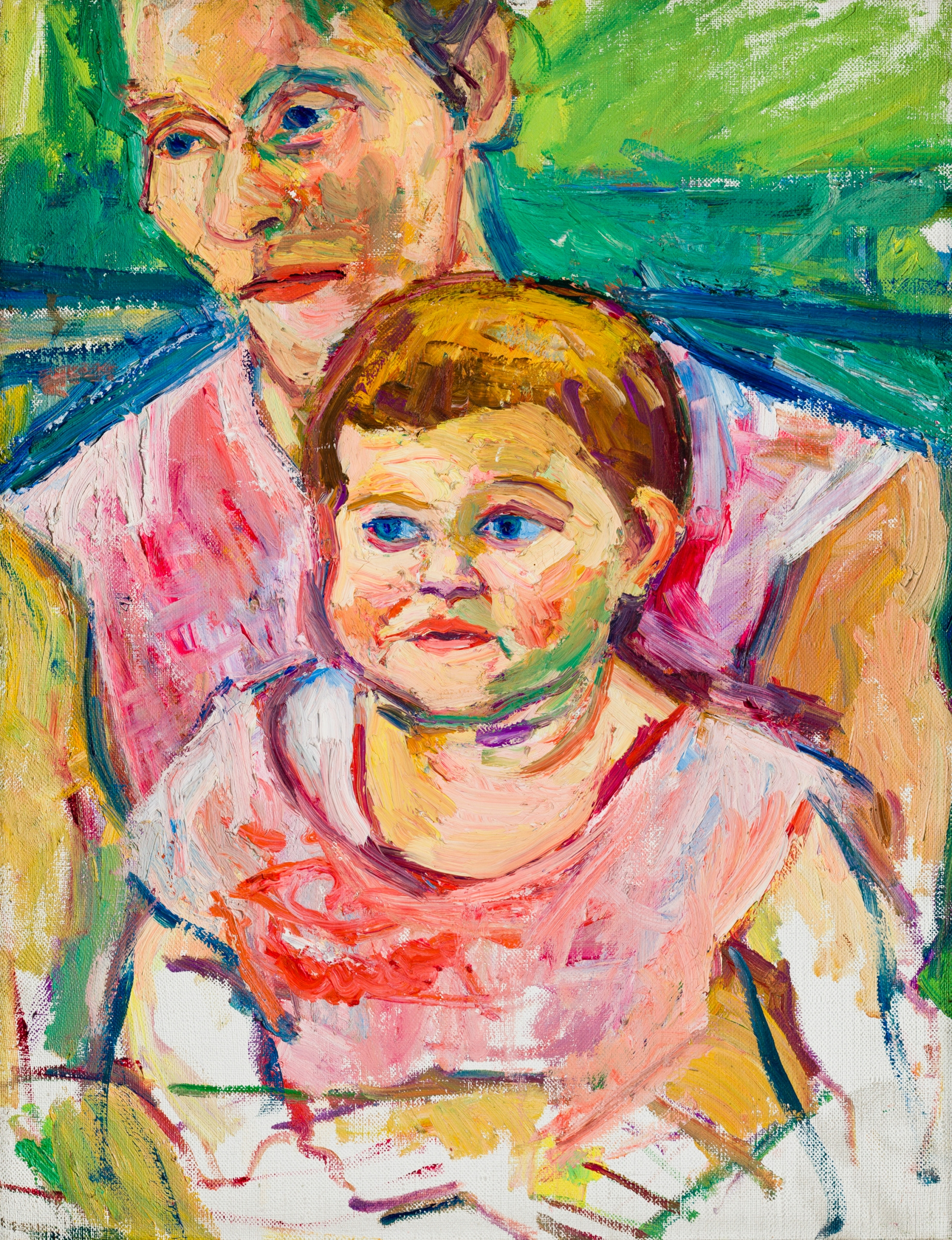 Herbert Boeckl, Mutter mit Kind (Charlotte)