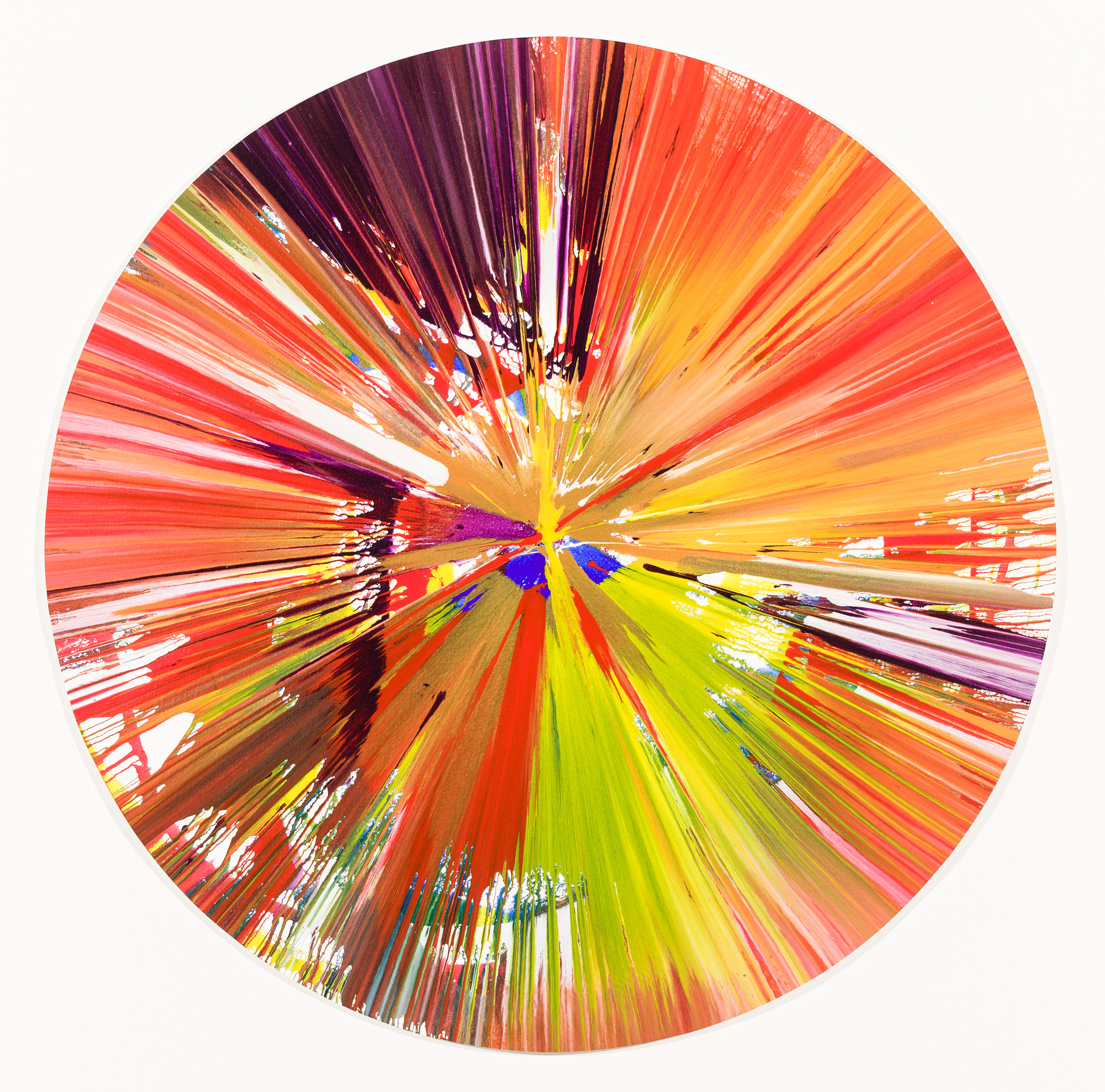 Damien Hirst, Spin Painting