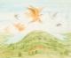 Anton Lehmden, Ohne Titel (Vogelflug) / untitled (flight of birds)