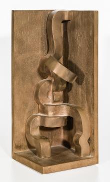 Erwin Reiter, Schlingende Figur in einer Ecke (Winkel)