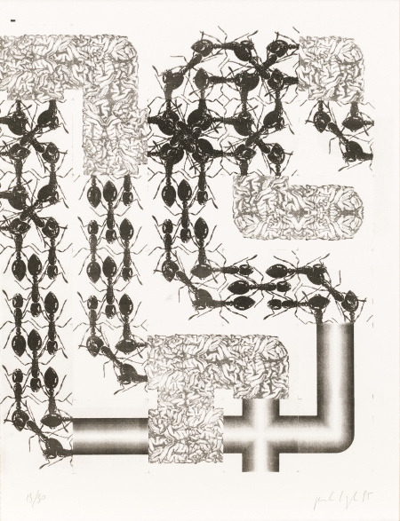 Peter Kogler, PORTFOLIO (gebundene Mappe / bound portfolio)