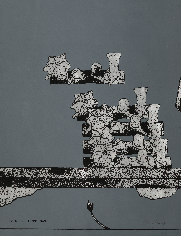 Bruno Gironcoli, Weg der Elektric Engel (3 Werke / 3 works)